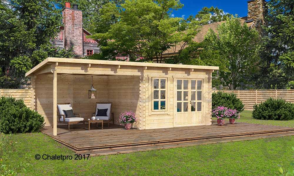 Abri De Jardin Et Pavillon En Bois Chalet Pro